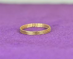**Free Domestic Ship (alaridesign) Tags: free domestic shipping for all orders over 50 use coupon code shipfree50 thin gold sparkle stacking ring these rings 14 each choose number y alari