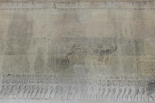 Angkor Vat - Galerie sud - Inscription K 298
