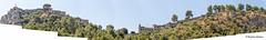 DSC8103 Panorámica del Castillo de Xátiva (Valencia) (Ramón Muñoz - ARTE) Tags: castillo de xátiva valencia murallas menor mayor palacio játiva
