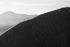 Bromo's Crater (jenvendes) Tags: indonesia asia bromo semeru mount mountains popular destination tourism eastjava clouds high volcano beautiful scene morning summer sky sands landmark smoke misty landscape wide place sunrise