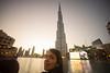 Burj Khalifa at sunset (tesKing (Italy)) Tags: abudhabi burjkhalifa dubai sunset emiratiarabi sandra emiratiarabiuniti