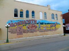 20160613 080 Monmouth, Illinois (davidwilson1949) Tags: monmouth illinois mural