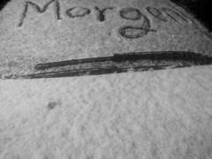 Snowy Morning, Berlin (deletecopy) Tags: snow morning greeting