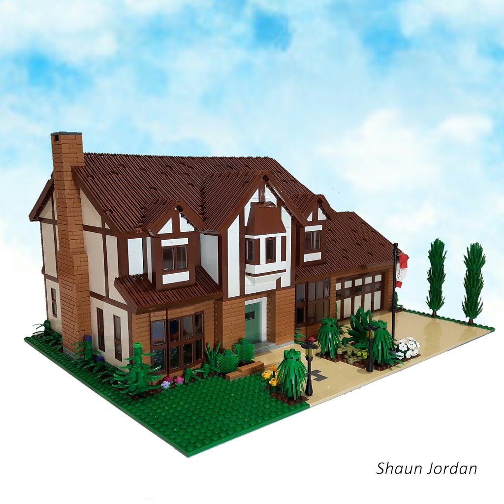 The world 39 s best photos of lego and tudor flickr hive mind for Tudor house plans with photos