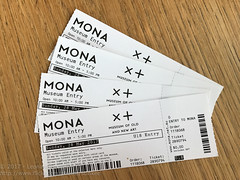 Get our tickets (Stinkee Beek) Tags: australia mona tasmania