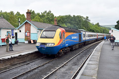 2017-07-15 EM 43044 (0630 Derby-Pickering 'Pickering Paxman' charter) Grosmont 2 (John Carter 1962) Tags: trains rail railways nymr hst 125 eastmidlandstrains railtour pickeringpaxman