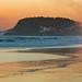 Burleigh Heads at Sunset (stevepaustin) Tags: miami queensland australia au sunset landscape beach ocean waves surf goldenhour golden goldcoast