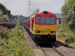 Class 60 action at Water Orton (simonjohn4) Tags: wolverhampton class 60 60007 immingham water orton train locomotive