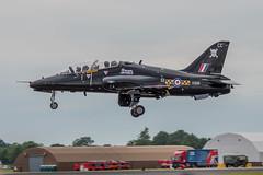 Hawker Siddeley Hawk T1A, XX191, RIAT 2017, RAF Fairford, 20170713 (georgeland675) Tags: fastjettrainer militaryjet