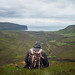 HANGING VALLEY (Dan ODonnell) Tags: orkney hoy scotland landscape grass valley man backpack hike hiking hooded hills sea ocean north adventure trip road coast coastal bag dan odonnell