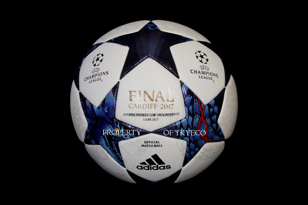 e848010a06bc2 UEFA CHAMPIONS LEAGUE 2016-17 FINAL CARDIFF 2017 MATCH USED ADIDAS BALL