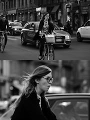 [La Mia Città][Pedala] (Urca) Tags: milano italia 2017 bicicletta pedalare ciclista ritrattostradale portrait dittico bike bicycle nikondigitale scéta biancoenero blackandwhite bn bw 102640