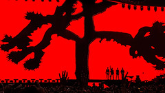 U2 Joshua tree tour 2017 @ Croke Park, Dublin #u2 #music #dublin #ireland #mobile #samsung #galaxy #samsunggalaxy #concert #livemusic #red #silhouette #mobilephotography (Giuseppe Milo (www.pixael.com)) Tags: mobilephotography livemusic concert silhouette galaxy mobile u2 dublin samsunggalaxy music red samsung ireland
