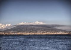 Mt. Vesuvius from Naples (neilalderney123) Tags: cneilhoward2017 itl italy naples landscpe volcano vesuvius clod water cloud bay olympus travel