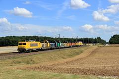 TM Bourguignon (Lion de Belfort) Tags: train chemin de fer bb 22200 22366 sncf fret infra machines tm flacey