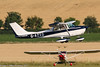 G-AZXD - 1972 Reims built Cessna F172L Skyhawk, departing from Duxford during Flying Legends 2017