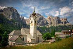 Dolomites - Colfosco (einaz80) Tags: colfosco badia chiesa church dolomites dolomiti sella sellagroup kirche eglise calfosch