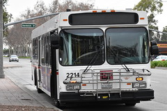 Long Beach Transit (theTransitjournal) Tags: lbt long beach transit new flyer d40lf