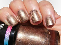 Koloss Nails Glamourosa (Simona - www.lightyournails.com) Tags: koloss metallic holographic bronze smalto esmalte vernis unghie manicure nails nailpolish nagellack naillacquer nailswatch
