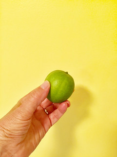 Where do you draw the lime?