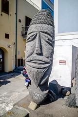 Lipari (ME), 2017, Sculture in pietra locale. (Fiore S. Barbato) Tags: italy sicilia lipari isola isole eolie arcipelago scultura sculture pietra pietre lacale locali