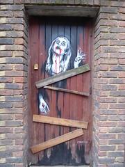 Zabou graffiti, Shoreditch (duncan) Tags: graffiti shoreditch zabou zombie