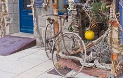 Mein neues Fahrrad / My new bike (schreibtnix on 'n off) Tags: reisen travelling europa europe frankreich france bretagne brittany breizh concarneau altstadt oldcity antikes antiquities meinneuesfahrrad mynewbike olympuse5 schreibtnix