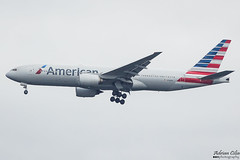 American Airlines --- Boeing 777-200ER --- N766AN (Drinu C) Tags: adrianciliaphotography sony dsc rx10iii rx10 mk3 fra eddf plane aircraft aviation americanairlines 777 boeing 777200er n766an