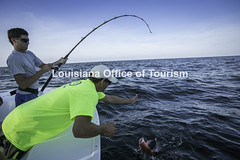 CocodrieCharterFishing (47) WM (Louisiana Tourism Photo Database) Tags: fishing gulf gulfofmexico southernunitedstates angler anglers boating catchingfish charterboat offshore oiandgasrigs outdoorsports outdoors redsnapper southlouisiana water cocodrie louisiana usa