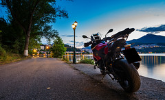Riding adventure, Kastoria (KF-GR) Tags: nikon d750 nikond750 city kastoria greece macedoniagreece fullframe lights shadows darkness longexposure nature fx bmw s1000xr motorrad motorcycle adventure lake reflections ngc makedonia timeless macedonian macédoine mazedonien μακεδονια
