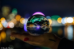 Oh I wonder (Endless Reflection Photography) Tags: seattle downtownseattle pacificnorthwest emeraldcity bokeh bokehphotography crystalball nightphotography seattlephotographer endlessreflectionphotography cmerchant1 ereflectionphotos ladiinfinte seattleskyline