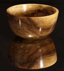 Rainbow poplar, 6 x 3, Tru oil finish (Stephen Mildenhall) Tags: woodturning bowl wood lathe woodbowl woodwork