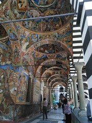 Rila Monastry Frescoes (jann.haemers) Tags: рилскиманастир rilskimanastir art bulgarije bulgaria sofia europe monastry historic building rila mountains paintings fresco culture