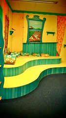 Doppelpodest von links (Mareike Scharmer) Tags: kinderräume mareikescharmer kunterbuntekinderstuben paintedfurniture acryl farben kostbarekindermöbel