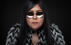 Cebra (AM.Foto) Tags: woman portrait shades glasses brunette studio strobist beautydish alienbees sunglasses fotodiox amfoto dodge aleandmarkldodge abitoforder