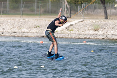 CFR0400 (Carlos F1) Tags: nikon d300 castelldefels ocp olimpiccablepark olimpic sport deporte water agua wakeboard wakeboarding wakesport wakeskate boardsport jump salto tabla surf surfing barcelona spain watersport acuatico