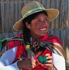 PER_3493.jpg (ro_mac) Tags: licht light fröhlich lächeln smile uros happiness lake see titicaca puno peru