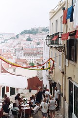 Fiesta (Andy Yankovskyi) Tags: eurotrip film fujifilm superia europe photography lisbon portugal city sites street