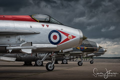 """ Lightning Strikes Thrice "" (simonjohnsonphotography.uk) Tags: nikonaviation raf bruntingthorpe nikon aviation jet lightningpreservationgroup simonjohnsonphotography lightning firebirds 56squadron aircraft"