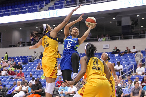 """Indiana Fever vs Dallas Wings • <a style=""""font-size:0.8em;"""" href=""""http://www.flickr.com/photos/10266314@N06/35790454760/"""" target=""""_blank"""">View on Flickr</a>"""