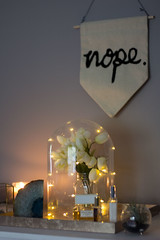 nope. (katepurchase1) Tags: room decoration decor floral wallart geode canon