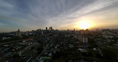 Panoramic view of Sunset 🌅 in Kuala Lumpur, Malaysia 🇲🇾 (@jailanish) Tags: malaysia kualalumpur mycity myhome aerial panoramic drone spark djimalaysia djispark dji