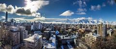 Santiago skyline after snowstorm (@abriendomundo) Tags: santiagodechile nievaensantiago nievesantiago chile skyline skylinesantiagodechile cordillera abriendomundo canoneos5dmarkiv canon50mmf18