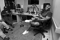 IMG_6561 (Brother Christopher) Tags: podcast podcasting fortheculture hiphop chicago chitown twista legend icon combatjack combatjackshow lsn loudspeakersnetwork explore interview portrait portraiture bnw blackandwhite monochrome monochromatic brotherchris