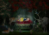 BB_SnowWhite (BCortesPhotography) Tags: trujilloalto puertorico baby bella snow white kids girl studiophotography forest animals deer rabbit bluejay squirrel flowers trees flamboyan nigth bcortesphotography brendacortes