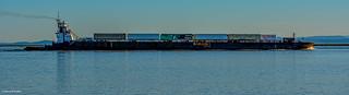 Seaspan Tugboat & Barge - Steveston Channel