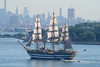 Amerigo Vespucci, Italian Navy Training Ship, in New York, USA. July, 2017 (Tom Turner - NYC) Tags: marinamilitare trainingship tallship sailingship amerigovespucci italiantrainingship italian explorer schoolship ship vessel steelhull threemasted fullrigged navy italynavy italiannavy tomturner water waterway channel narrows bay statenisland newyork nyc bigapple usa unitedstates vintage classic brooklyn manhattan skyline sails marine maritime pony port harbor harbour transport transportation