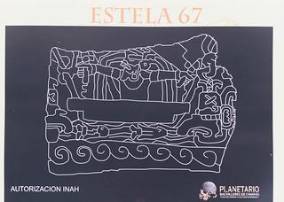 Mayan stele made clear!