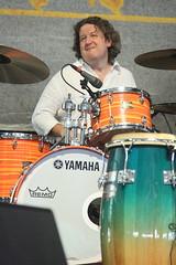 John Mooney & Bluesiana (2017) 06 - Doug Belote (KM's Live Music shots) Tags: blues unitedstates neworleans dougbelote johnmooney drumkit drums neworleansjazzheritagefestival bluestent fairgroundsracecourseneworleans