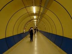 Tunnel (stillunusual) Tags: london ldn city england uk streetphotography street cityscape urban urbanscenery londonunderground underground metro tube travel travelphotography travelphoto travelphotograph 2017